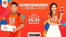 Shopee: Hơn 1.111 thương hiệu giảm giá đến 50%