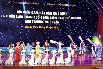 'Đàn, hát dân ca ba miền' ở Quảng Ninh