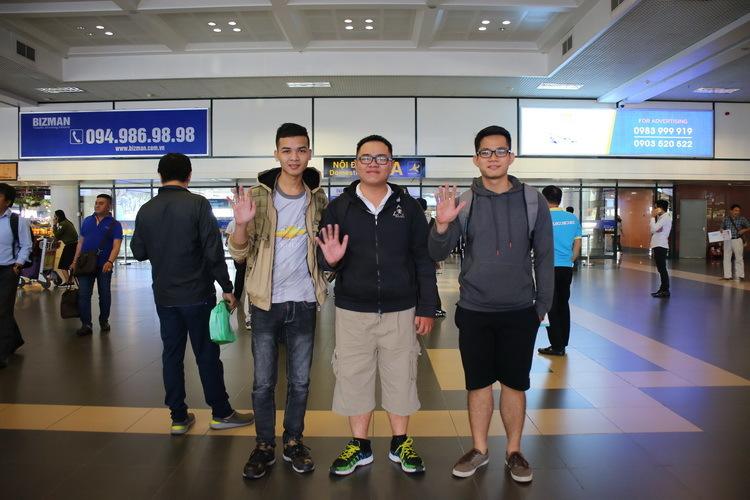 Đội Mỹ và Nga đã tới Hà Nội tham gia Chung kết WhiteHat Grand Prix 2018