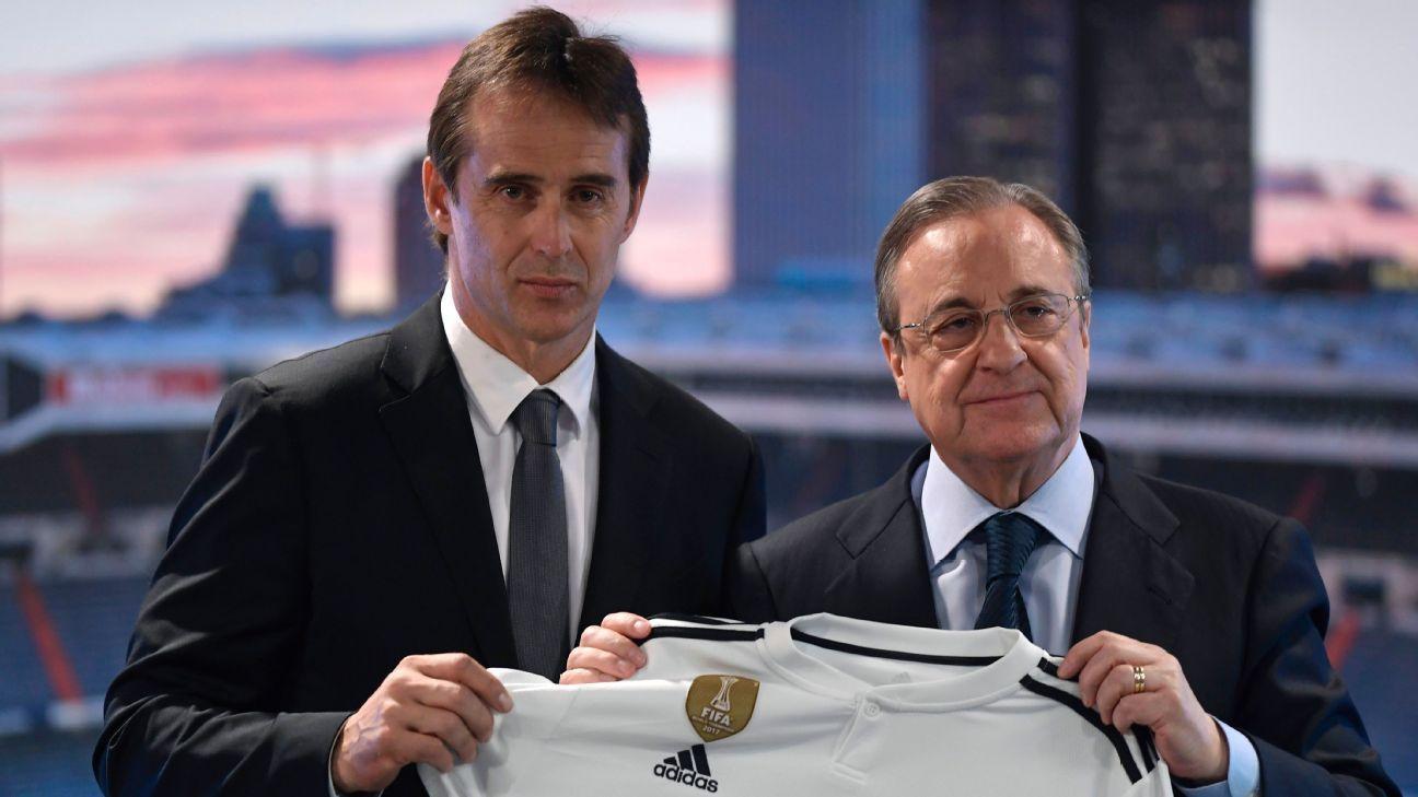 Real Madrid,Florentino Perez,Sergio Ramos,Antonio Conte,Julen Lopetegui