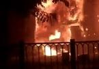Quán bar mới khai trương ở Sài Gòn cháy ngùn ngụt trong đêm