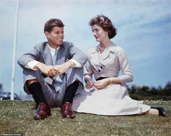 Ảnh hiếm thời trẻ của cựu Đệ nhất phu nhân Mỹ Kennedy