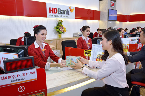 Moody's nâng bậc xếp hạng tín nhiệm của HDBank lên B1