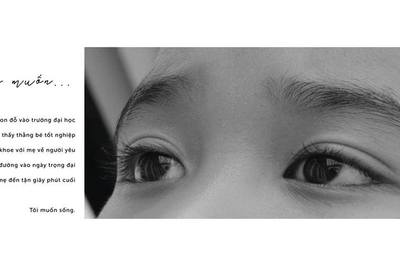 Bộ ảnh tái hiện người mẹ ung thư của học sinh Sài Gòn