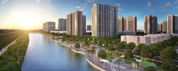 VinCity Ocean Park ra mắt phân khu căn hộ đầu tiên