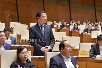 Toàn văn trả lời chất vấn của Bộ trưởng TT&TT Nguyễn Mạnh Hùng trước Quốc hội