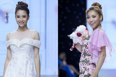 Dàn người đẹp diện áo dài cách điệu đổ bộ sân khấu Sài thành
