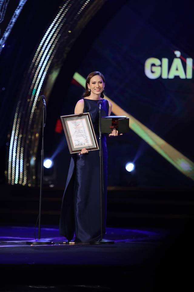 Phương Anh Đào giành giải Nữ diễn viên chính xuất sắc LHP Quốc tế Hà Nội