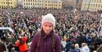 Cô gái 15 tuổi nghỉ học để đấu tranh chống biến đổi khí hậu