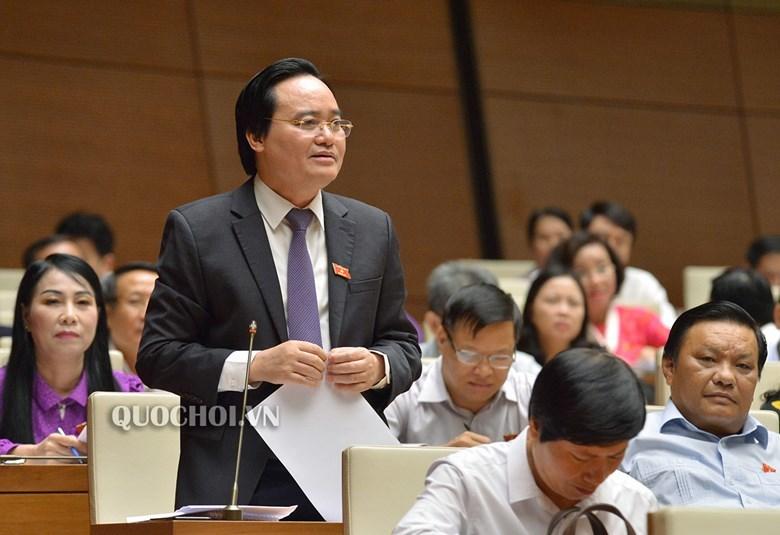 Phùng Xuân Nhạ,Bộ trưởng GD&ĐT,lãng phí SGK,Huỳnh Thanh Cảnh