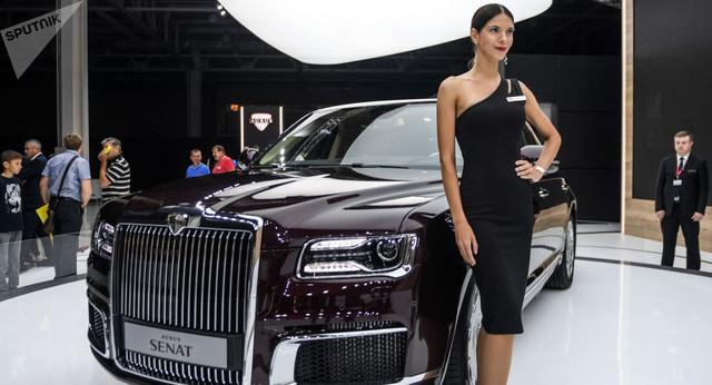 Aurus – siêu xe Rolls-Royce của Nga cháy hàng hai năm tới
