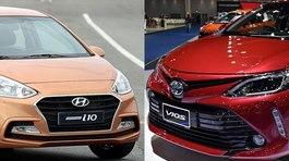 Mua xe chạy taxi: Chọn Toyota Vios hay Hyundai Grand i10?