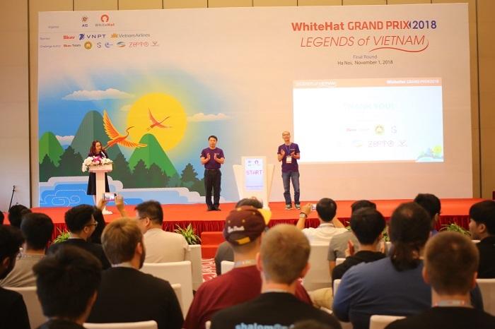 Các hacker hàng đầu thế giới tranh tài tại WhiteHat Grand Prix 2018