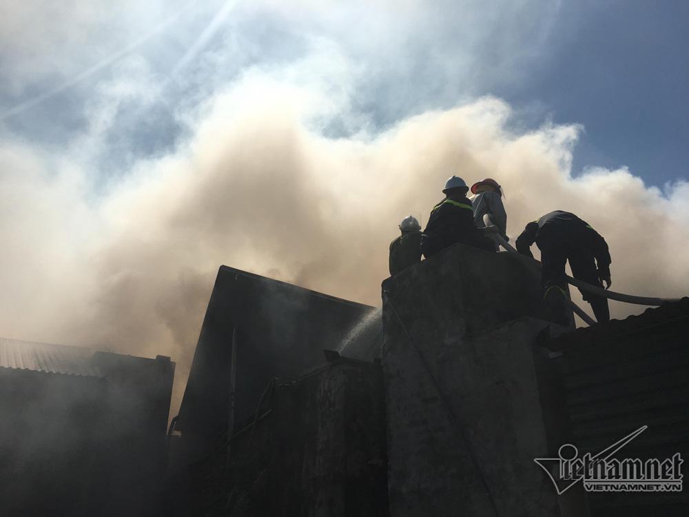 cháy nhà,cháy xưởng,cháy ở Hoài Đức,Hà Nội,hỏa hoạn