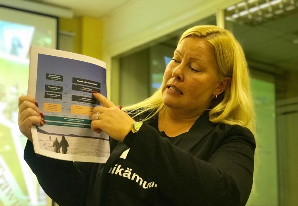 giáo dục đại học,giáo dục Phần Lan,người thầy