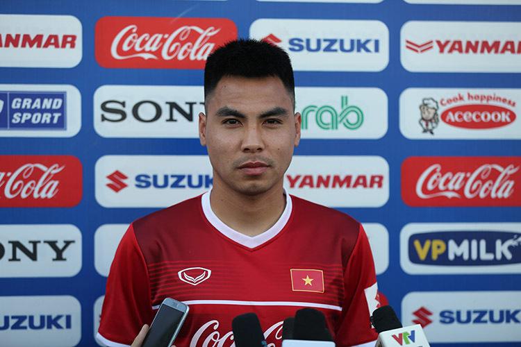 Đức Huy: 'Cả đội chưa biết ai thay Văn Thanh'
