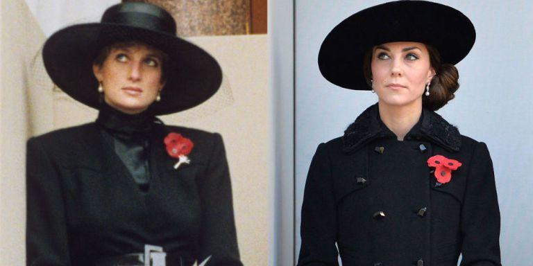 Kate Middleton giống công nương Diana đến giật mình