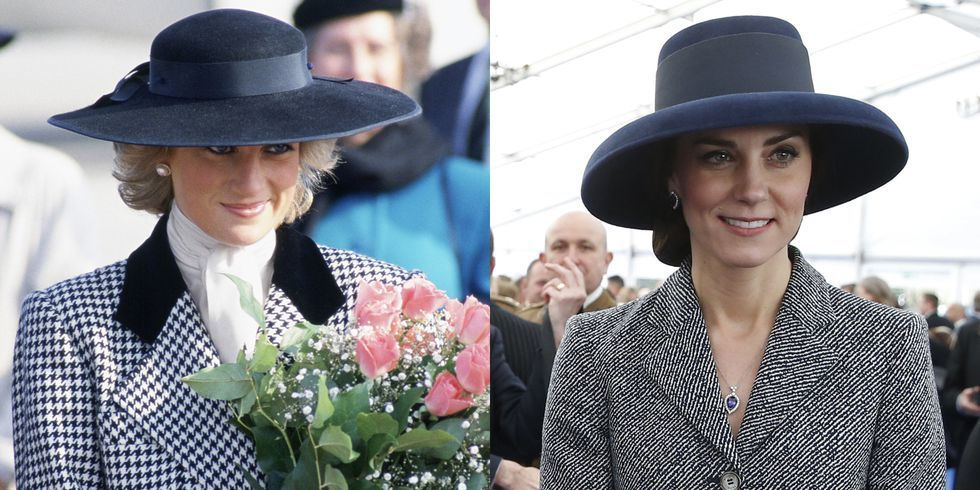 Kate Middleton,công nương Diana