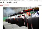 Quốc tế đưa tin: Việt Nam đăng cai đua F1 vào 2020