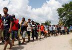 Ông Trump doạ bắn người di cư ném đá lính Mỹ