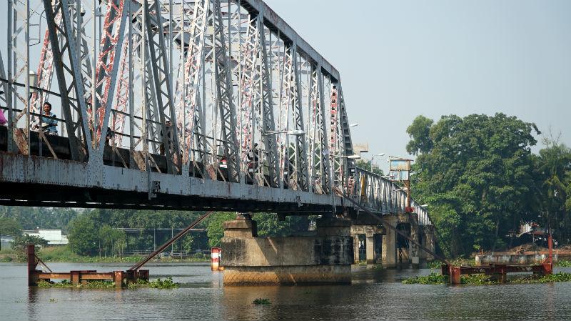 Cầu sắt hơn 100 tuổi ở Sài Gòn trước ngày tháo dỡ