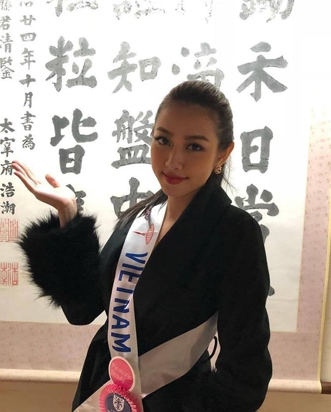 Miss International 2018: Thùy Tiên nóng bỏng trong phần thi bikini
