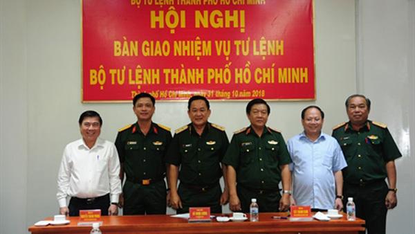 Bổ nhiệm Tư lệnh Bộ Tư lệnh TP.HCM, Sư đoàn trưởng Sư đoàn 5