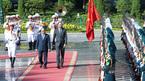 Hình ảnh lễ đón chính thức Thủ tướng Pháp tại Phủ Chủ tịch