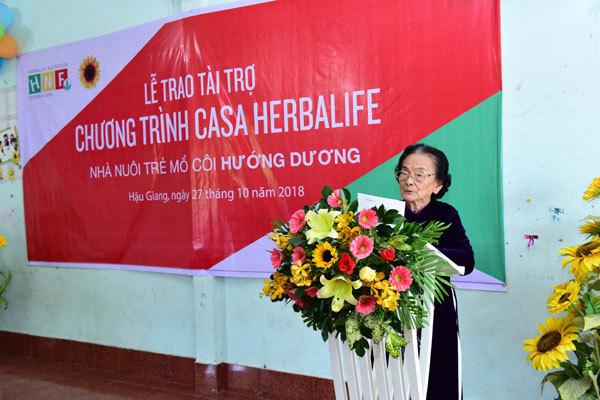 Casa Herbalife 5 năm liền mang bữa ăn dinh dưỡng đến Hậu Giang