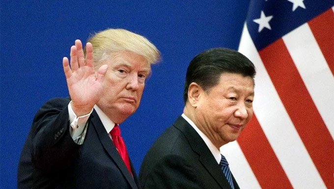 Donald Trump,Tập Cận Bình,chiến tranh thương mại,chiến tranh thương mại Mỹ-Trung