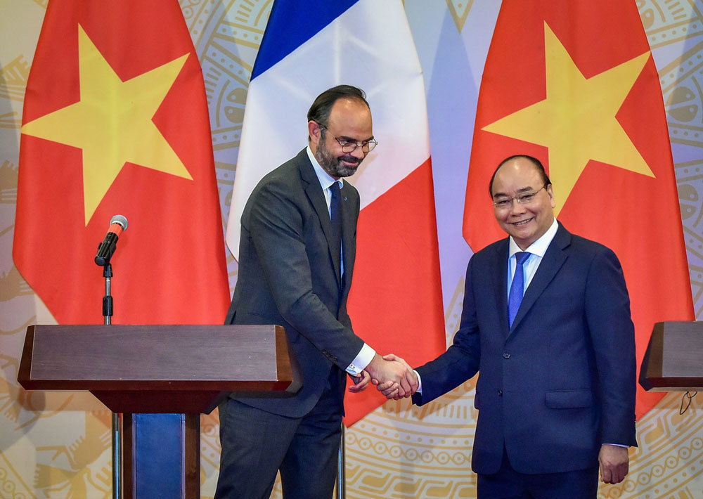 Thủ tướng Nguyễn Xuân Phúc,Việt - Pháp