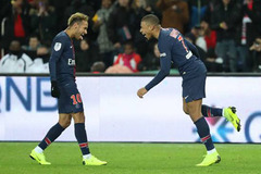 Mbappe và Neymar cùng vẽ tuyệt phẩm, PSG lập kỷ lục