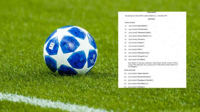 Chấn động: 16 ông lớn châu Âu 'bỏ' Champions League