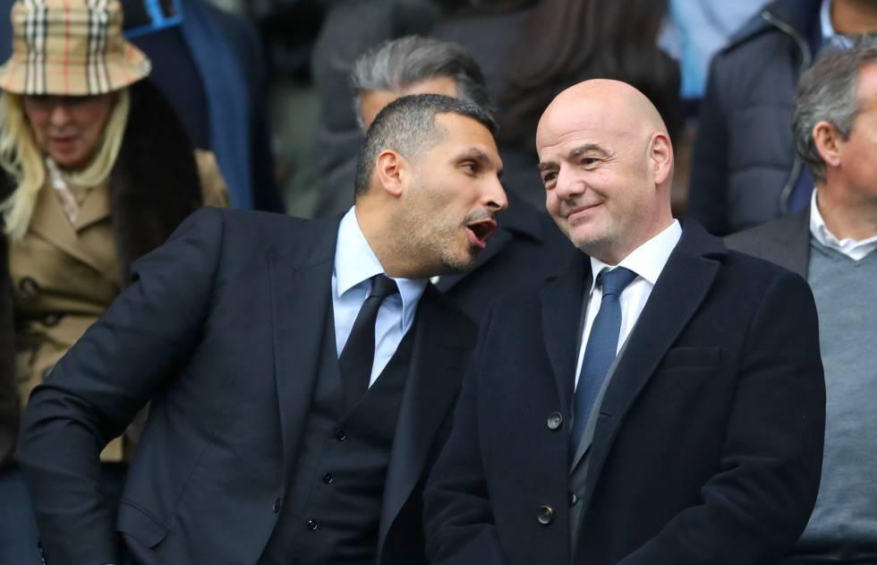 Man City,PSG,Neymar,Mbappe,Chủ tịch FIFA,Gianni Infantino