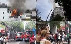 Khách sạn trung tâm Sài Gòn cháy ngùn ngụt