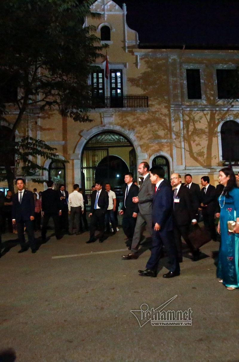 Thủ tướng Pháp,Hồ Gươm,Hà Nội,phố đi bộ
