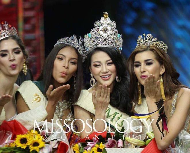 Nhan sắc nóng bỏng của mỹ nhân Việt đầu tiên đăng quang Miss Earth
