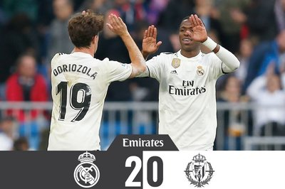 Ăn may phút cuối, Real vượt qua đội bóng của Ronaldo