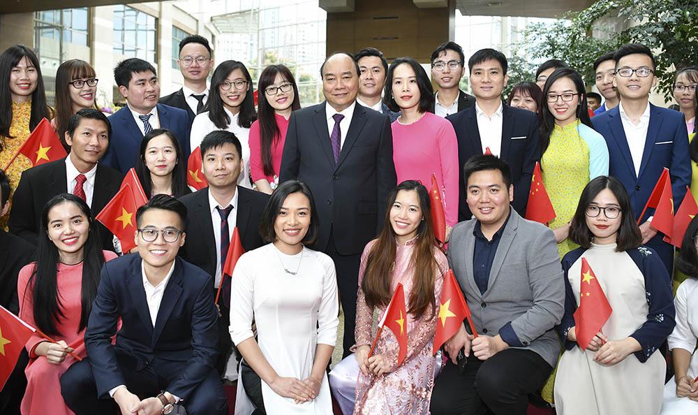 Hình ảnh hoạt động của Thủ tướng tại Trung Quốc