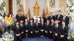 Cầu thủ Leicester viếng đám tang Chủ tịch Vichai ở Thái Lan
