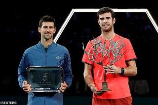 Hiện tượng Khachanov hạ Djokovic, vô địch Paris Masters