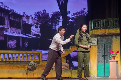 Kịch có Thanh Hương 'Quỳnh búp bê' mở màn Liên hoan sân khấu Thủ đô