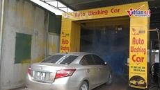 Hệ thống rửa xe tự động 'made in Vietnam', rửa ô tô chỉ trong 3 phút