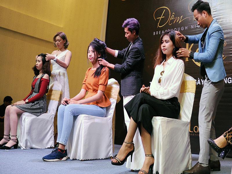 Hơn 30 nhà tạo mẫu tóc quy tụ tại lễ hội thời trang tóc