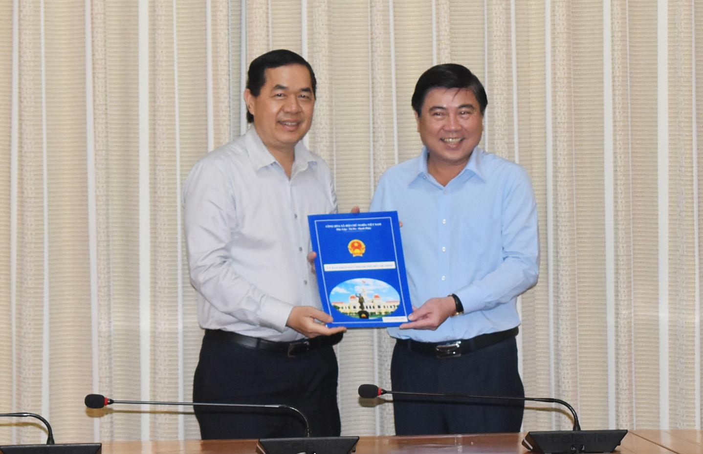 Giám đốc Sở Kế hoạch và Đầu tư TP.HCM được điều về Thành ủy