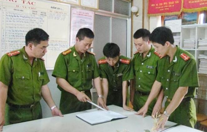 Bộ công an,Lưu Bình Nhưỡng