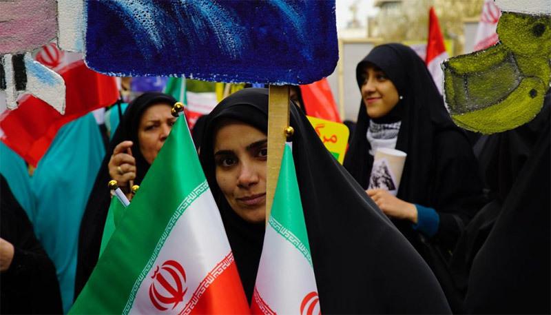 'Biển người' Iran biểu tình phản đối Mỹ