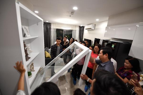 Mở cửa nhà mẫu, 'bay' 3.500 căn hộ