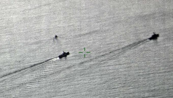 Trung Quốc,Mỹ,tàu khu trục,tàu chiến,đụng độ,hải quân