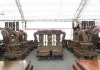 Bộ bàn ghế quốc voi bậc nhất Việt Nam: Làm mất 2 năm, giá 3 tỷ đồng